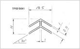 120 degree 3.5mm corner joint