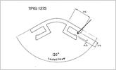 120 degree 3mm corner joint