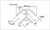 18mm internal angle corner section