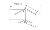 135 degree 20mm corner joint